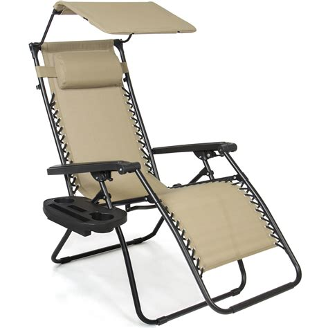 Reclining Garden Chair With Canopy