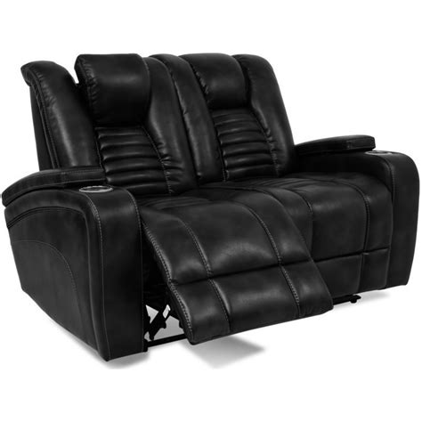 Reclining Sofa Cup Holder Hidden In Side Arms