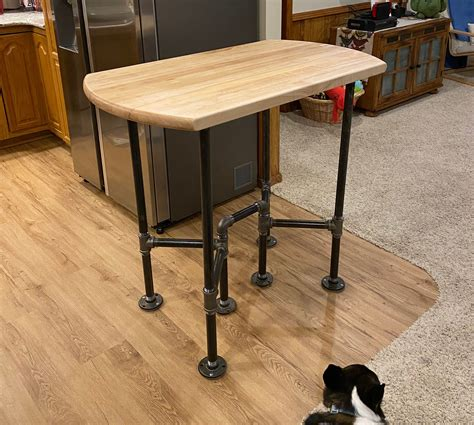 Record Table Diy Pipe