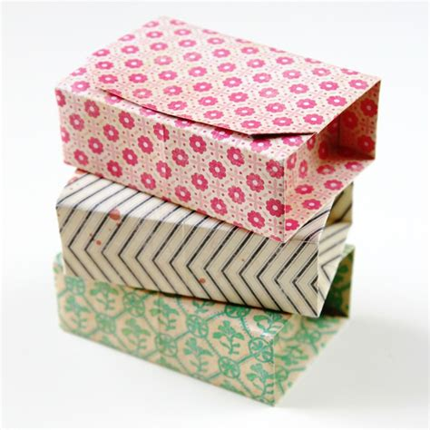 Rectangular Paper Box Diys