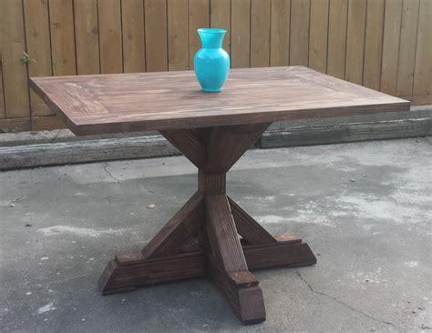 Rectangular-Pedestal-Table-Plans