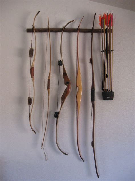 Recurve Bow Storage Racks