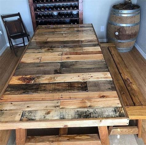 Recycled Wood Furniture Diy Ideas