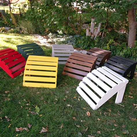 Recycled-Plastic-Adirondack-Chairs-With-Ottoman