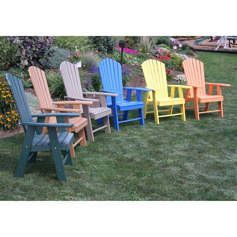 Recycled-Plastic-High-Adirondack-Chair