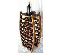 Best Recycled wine rack ideas