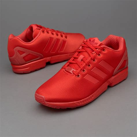 Red Adidas Mens Sneakers