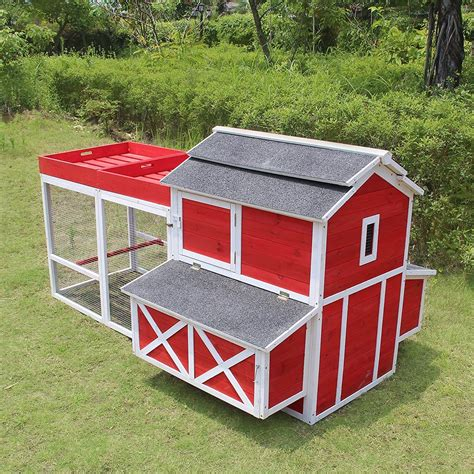Red Barn Chicken Coop Plans