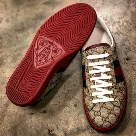 Red Bottom Gucci Sneakers