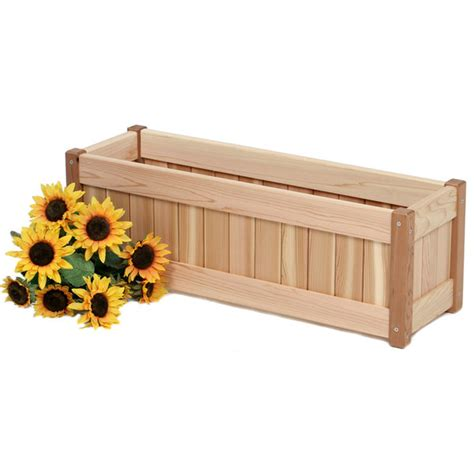 Red Cedar Planter Box Plans