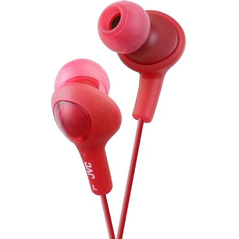 Red JVC Gumy Plus Inner-Ear Earbuds ( 10 PACK ) BY NETCNA