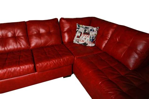 Red Leather Sleeper Sofa Free Delivery