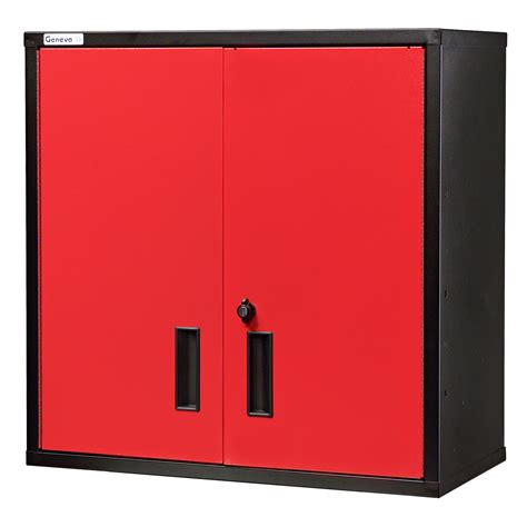 Red Metal Garage Cabinets Clearance