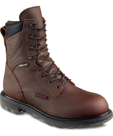 Red Wing Mens 8' Waterproof Insulated Leather Boot 1412