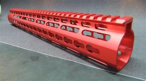 Red Keymod Handguard And 18 In Handguard