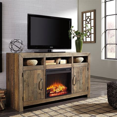 Red-An-Brown-Wooden-Tv-Stand-Diy