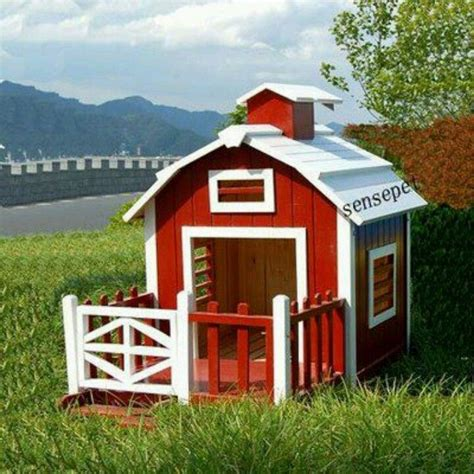 Red-Barn-Dog-House-Plans