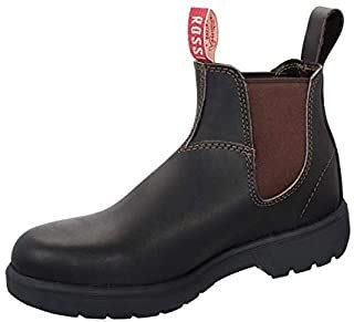 Redback UBBK Easy Escape Slip-On Soft Toe Black Redback Boot Size UK7 = US8.