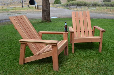 Redwood Adirondack Chair Plans
