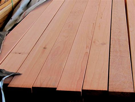 Redwood Deck Planks