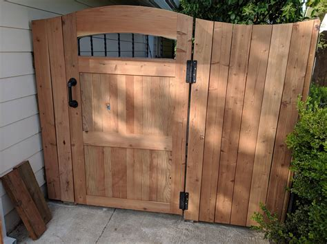 Redwood Fence Gates Design