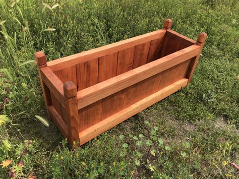 Redwood Planter Box Plans