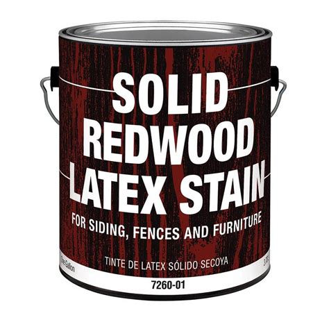 Redwood Stain Lowes