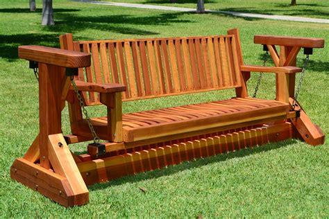 Redwood-Aderondack-Bench-Plans
