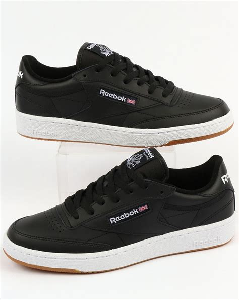 Reebok Black And White Sneakers