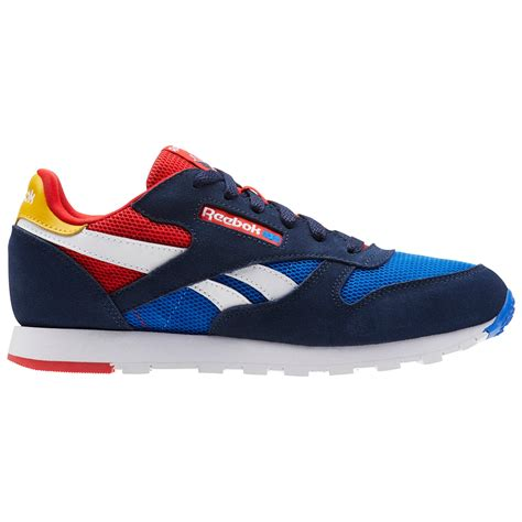 Reebok Cl Leather Nm Blue Athletic Sneakers