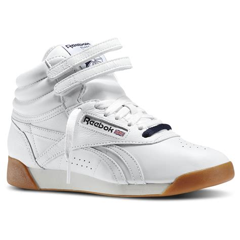 Reebok Classic Freestyle Hi Sneaker High White Silver