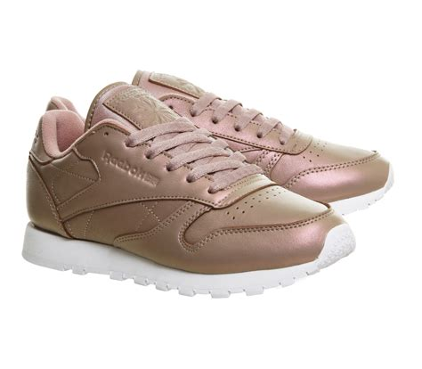 Reebok Classic Leather Pearlized Damen Sneaker Pink