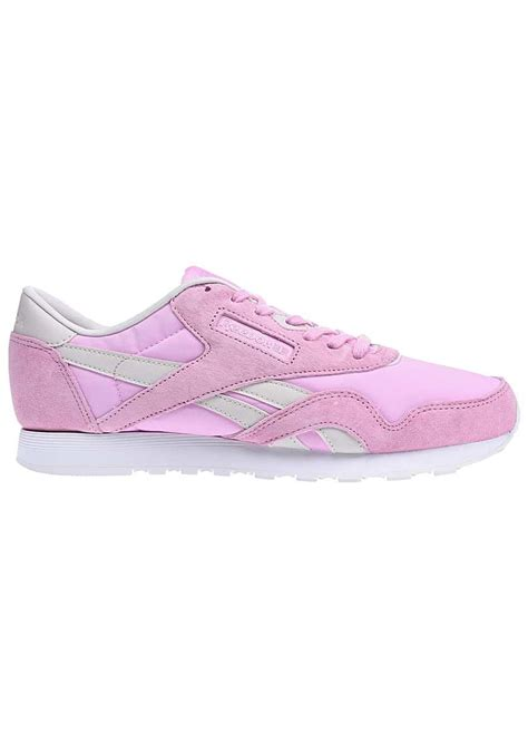 Reebok Classic Nylon X Face Sneakers In Pink