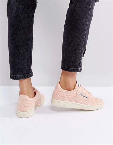 Reebok Classics Club C Pastel Sneakers In Pink