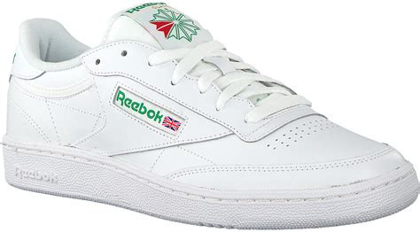 Reebok Club C Leather Sneakers In White Ar0455