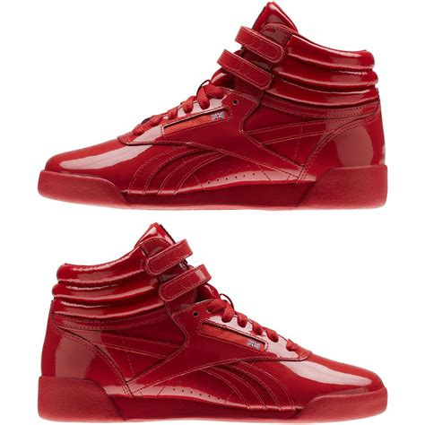 Reebok Freestyle Hi Leather Sneakers