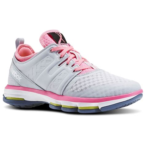 Reebok Gray And Pink Sneakers