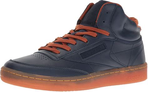 Reebok Men's Club C Mid Cord Fashion Sneaker