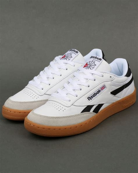Reebok Revenge Plus Gum Sneakers In White Women