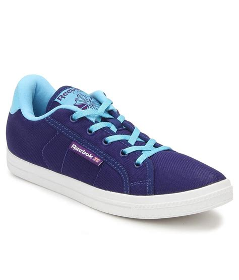 Reebok Sneakers Black And Purple