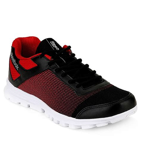 Reebok Sneakers Black And Red