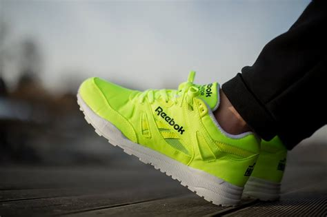 Reebok Ventilator Solar Yellow Sneakers