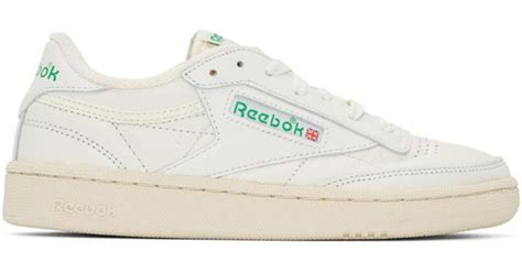Reebok Vintage Club C Sneakers In Off White &amp