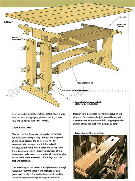 Refectory-Table-Design-Plans