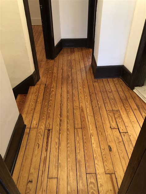 Refinishing A Wood Floor Diy