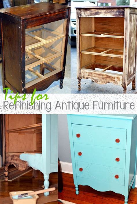 Refinishing Antique Furniture Diy Plans