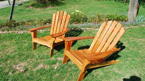 Refinishing-Wood-Adirondack-Chairs