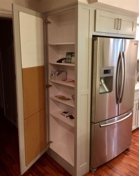 Refrigerator Surround Cabinet Diy