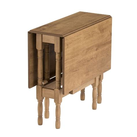 Refurbished Folding Leaf Table