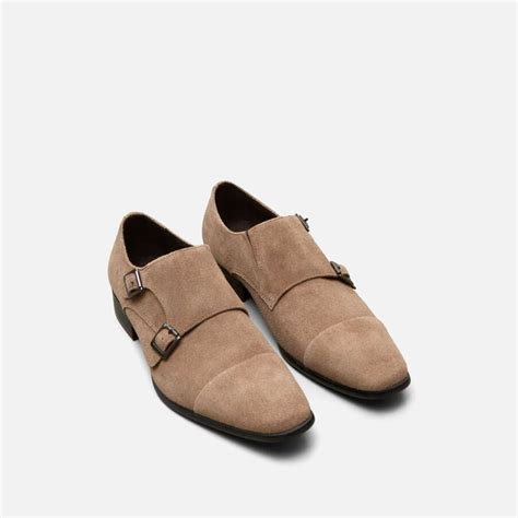 Regal Sole Suede Double Monk - Men's